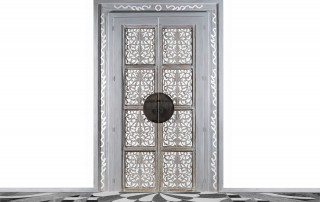 Tür-Durchgang-Verbau-indisch-Portal
